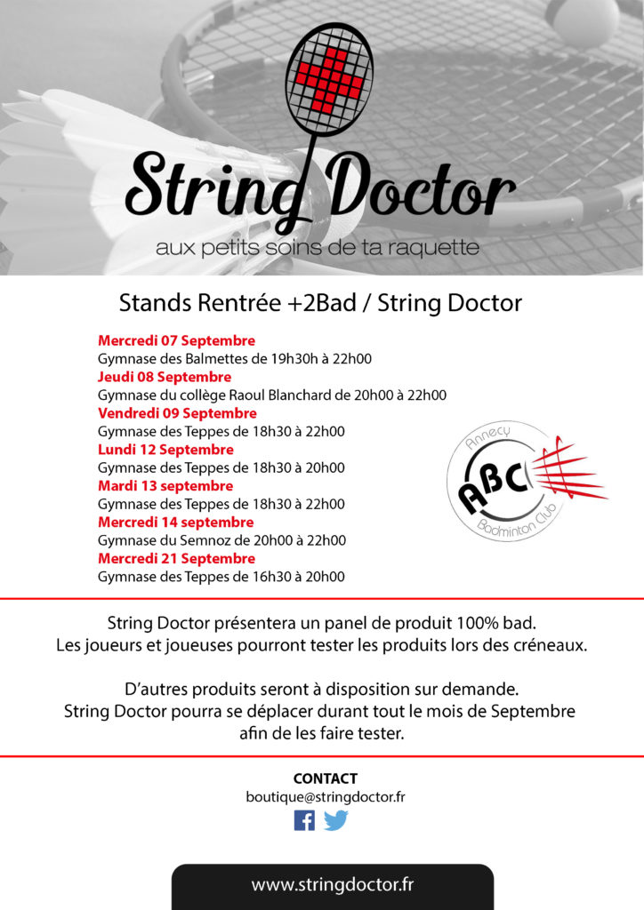 Flyer String Doctor- Stands rentrée V2